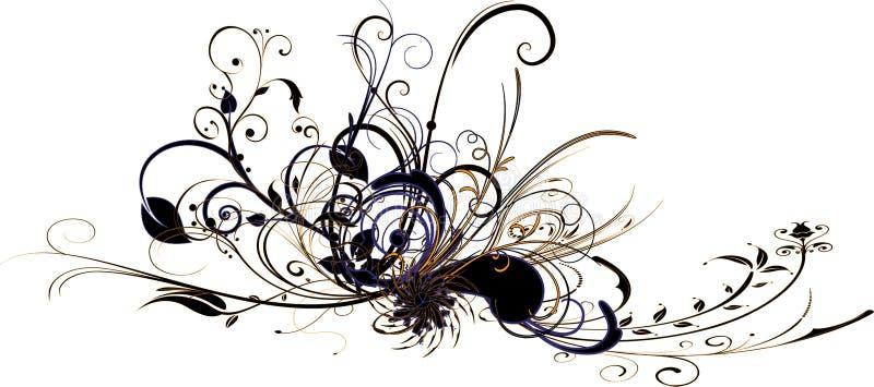 Abstrakt flora royaltyfria bilder
