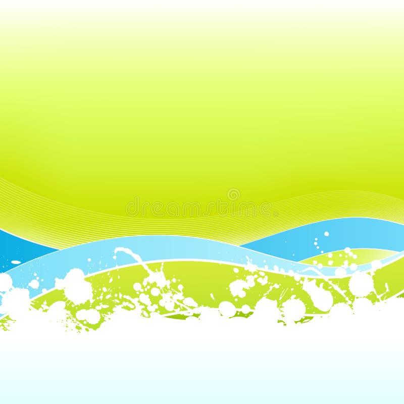 abstrakt fodrad splatter för konst ekologisk feel vektor illustrationer