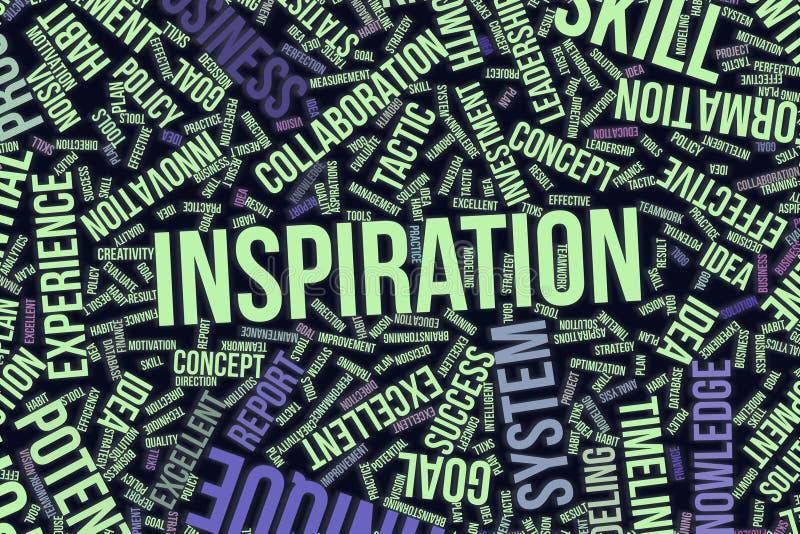 Abstrakt formillustrationbakgrund Modell intelligent, organisation, beslut & inspiration royaltyfri illustrationer