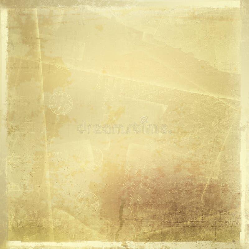 Abstrakt forntida bakgrund vektor illustrationer
