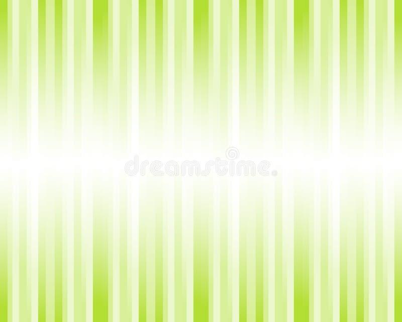 abstrakt görad randig bakgrundsgreen stock illustrationer