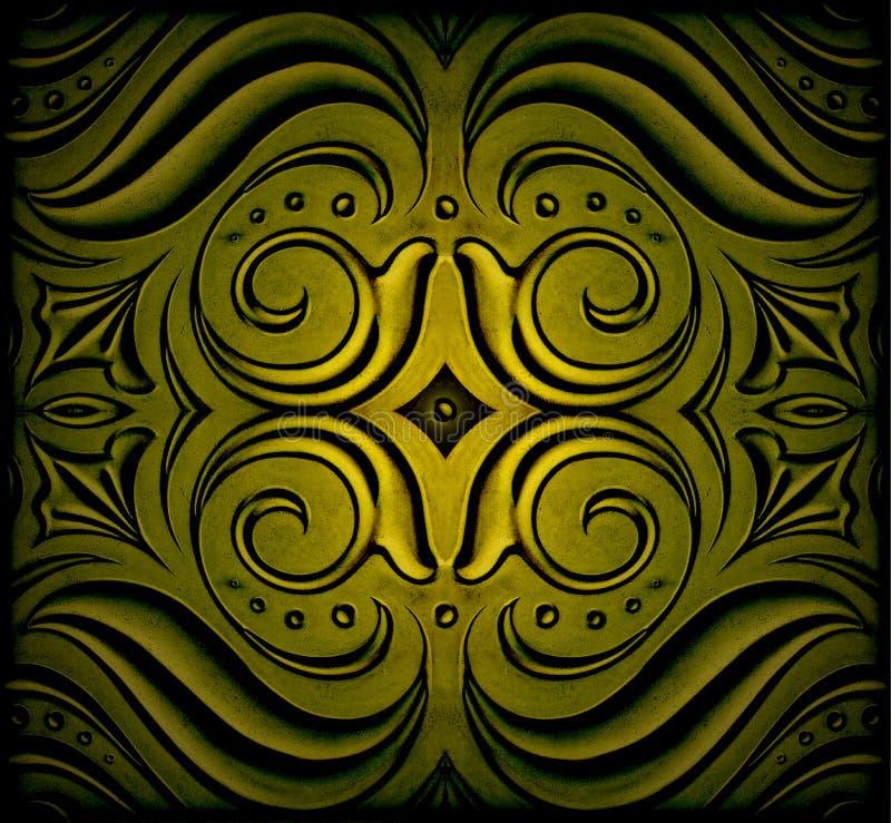 abstrakt garnering arkivfoto