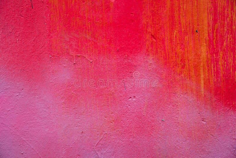 Abstrakt gemalte Betonmauer lizenzfreie stockfotos