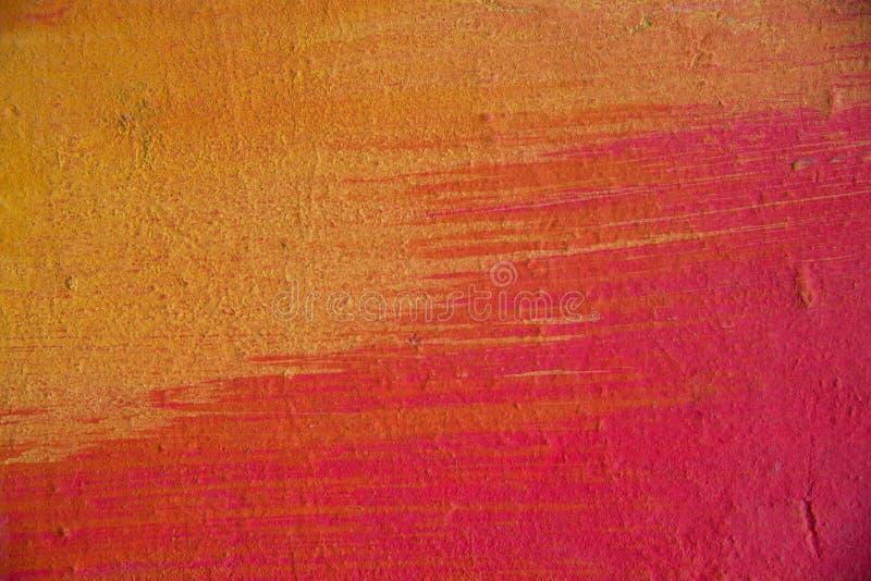 Abstrakt gemalte Betonmauer lizenzfreie stockfotografie