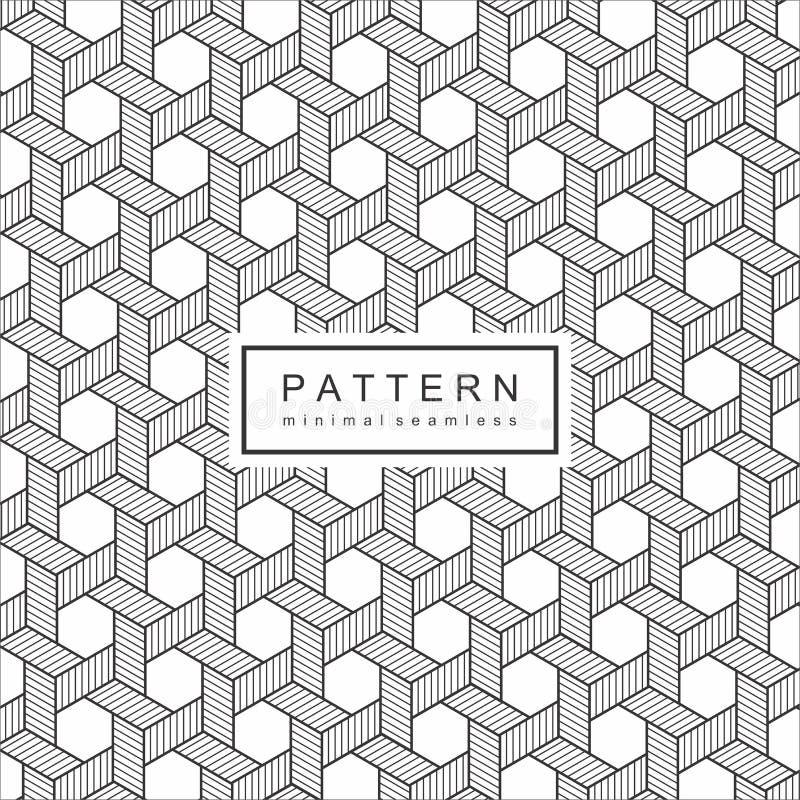 Abstrakt Geomatric linje modellbakgrund royaltyfri illustrationer