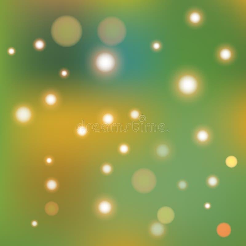 Abstrakt geometribakgrund för suddighet med skinande beståndsdelar vektor illustrationer