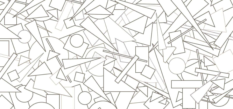 Abstrakt geometrisk bakgrund royaltyfri illustrationer