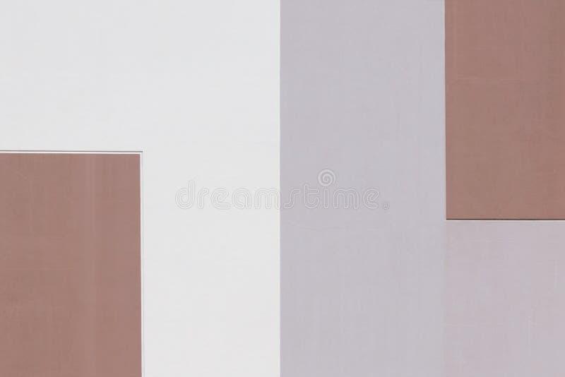 Abstrakt geometrisk bakgrund av pastellsignaler som delas in i två delar royaltyfria foton