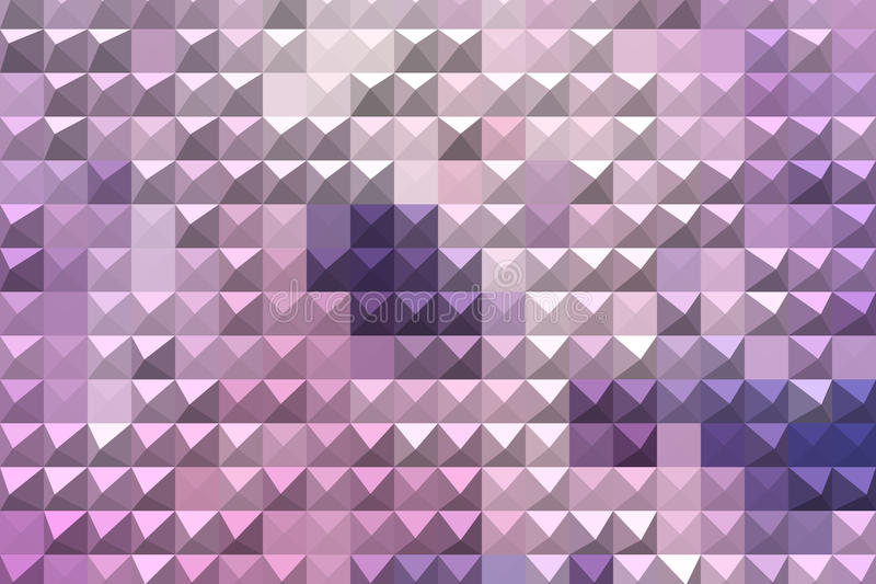 Abstrakt geometrisk bakgrund för lilor arkivfoton