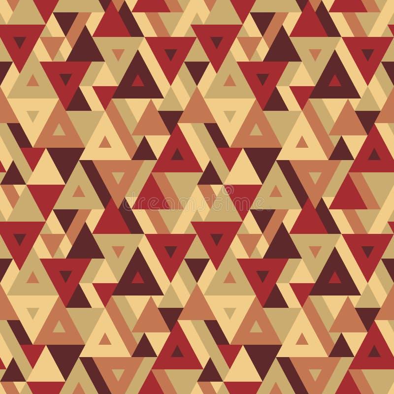 Abstrakt geometrisk bakgrund - sömlös modell för presentation, häfte, website och annat designprojekt vektor illustrationer