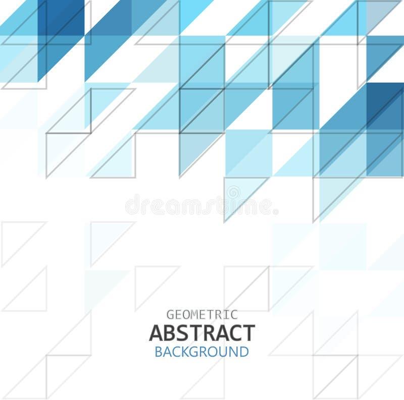 Abstrakt geometrisk illustration för modellblåttfärg som isoleras på vit bakgrund med kopieringsutrymme, vektor eps 10 vektor illustrationer