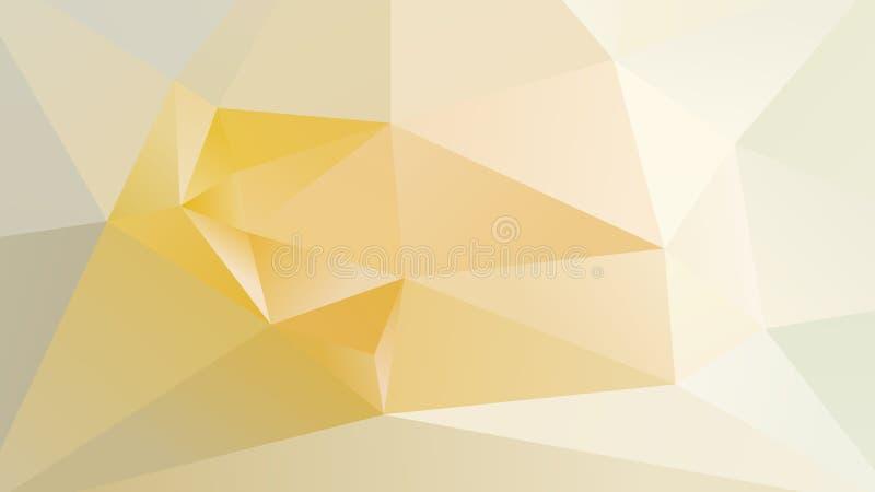 Abstrakt geometrisk låg Poly bakgrund vektor illustrationer