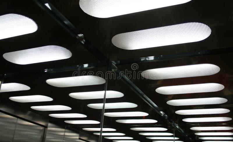 abstrakt geometrisk ljus modell arkivfoton