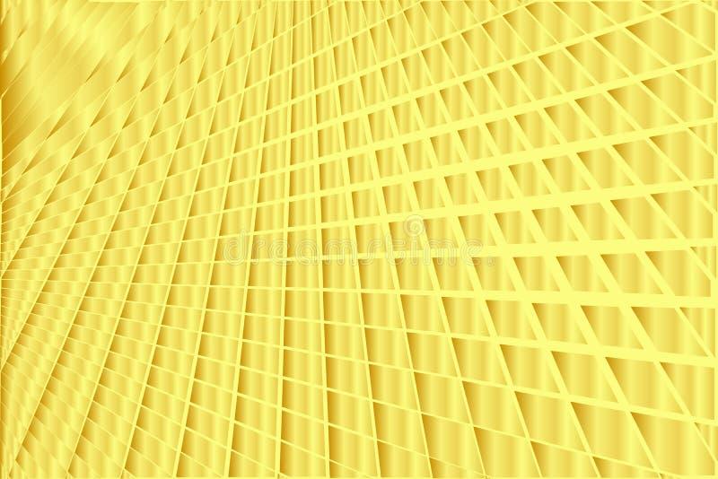 Abstrakt geometrisk modell, lutningtexturbakgrund i gul färg för guld- lutning, modern teknologi och lyxiga stilar fotografering för bildbyråer