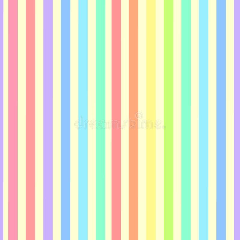 Abstrakt geometrisk modell med band Sömlös textur i olika färger, kan användas för bakgrund också vektor för coreldrawillustratio royaltyfri illustrationer