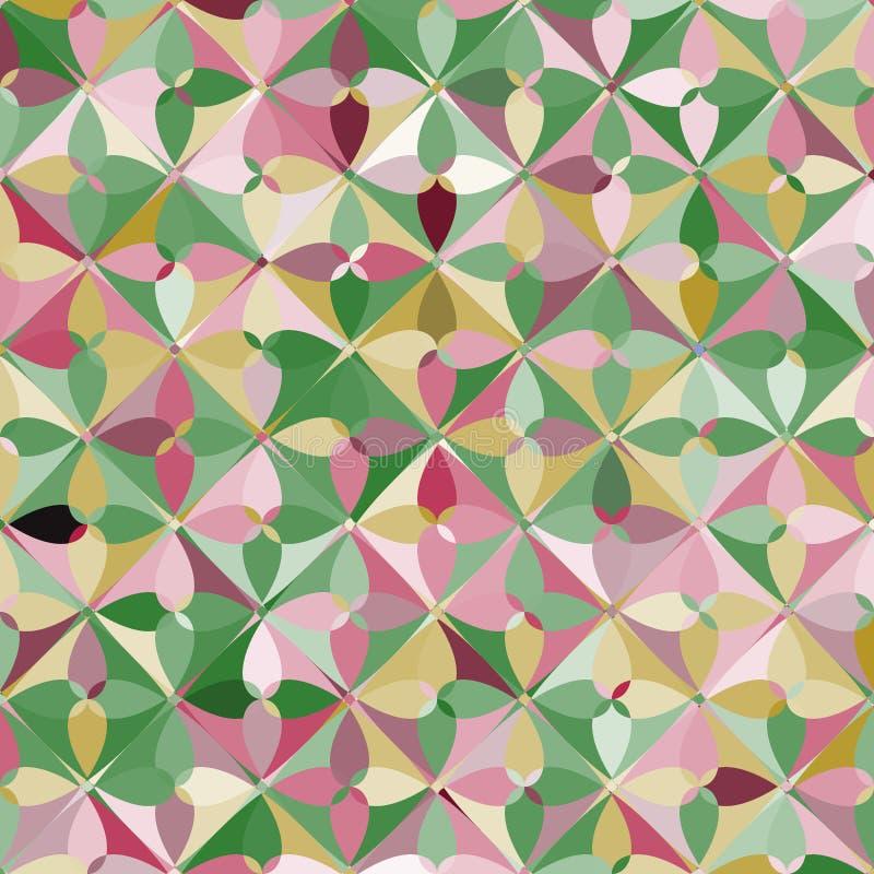 Abstrakt geometrisk modern cirkelmodell vektor illustrationer