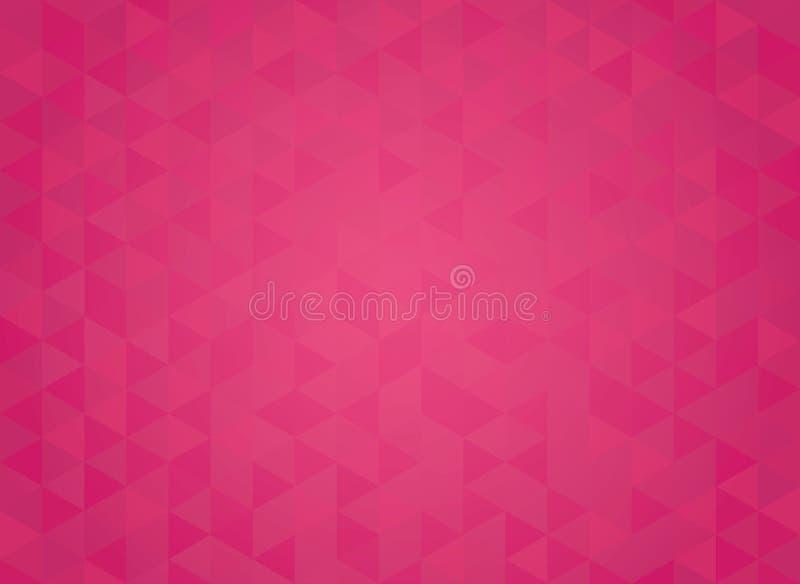 Abstrakt geometrisk röd lutningbakgrund stock illustrationer