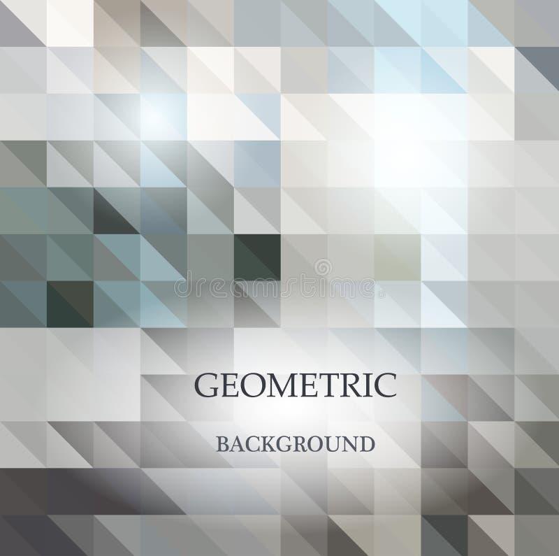 Abstrakt geometrisk rufsad till triangulär låg poly stilvektor vektor illustrationer