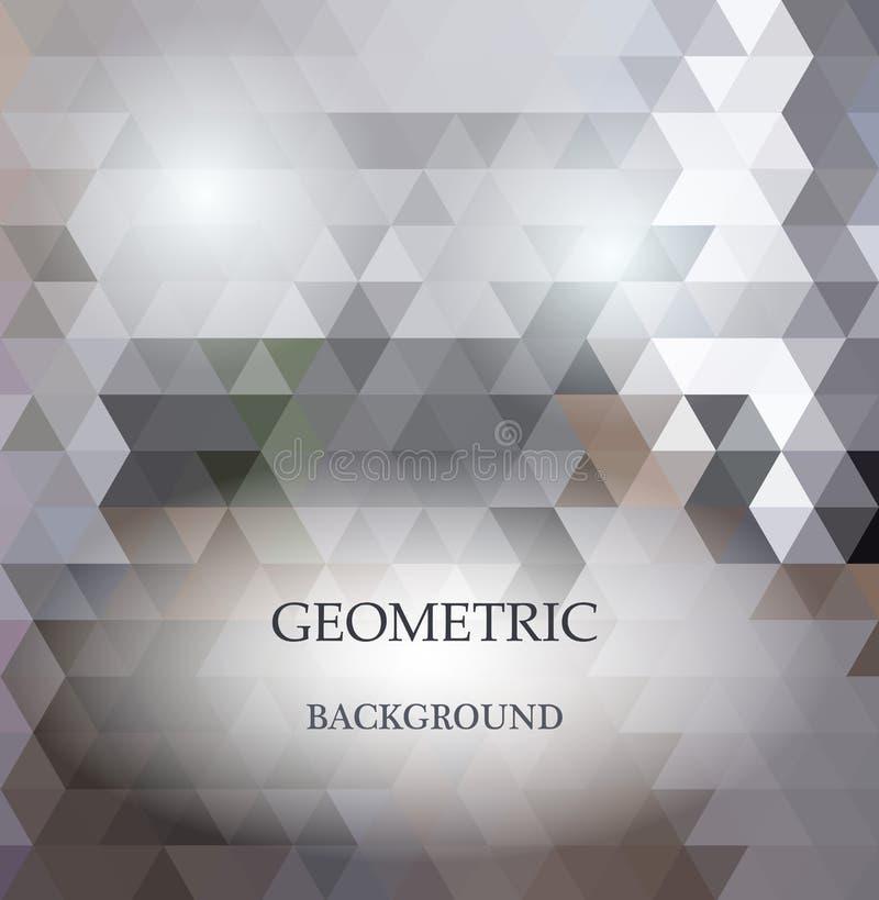 Abstrakt geometrisk rufsad till triangulär låg poly stilvektor stock illustrationer