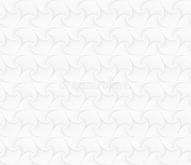 Abstrakt geometrisk sömlös modell för vit Ljus bakgrund för orienteringar, websitebakgrund, tapetdesign vektor illustrationer