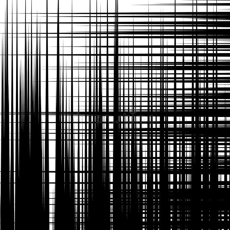 Abstrakt geometrisk textur, modell med dynamiska slumpmässiga linjer A vektor illustrationer