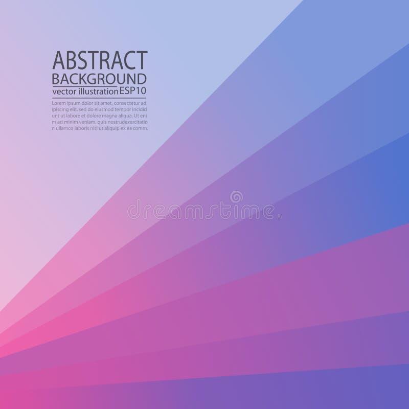 Abstrakt geometrisk violett bakgrund från linjer och band för en skärmsparare, baner, artikel, stolpe, textur, modell royaltyfri illustrationer