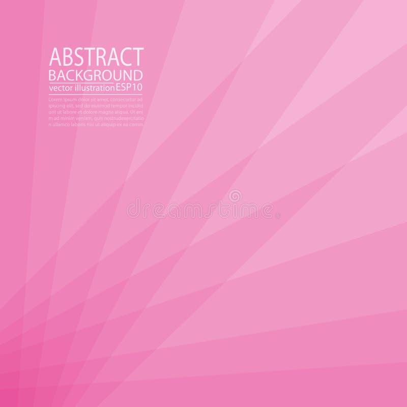 Abstrakt geometriska bakgrundsrosa färger och rött av linjer och band för skärmspararen, baner, artikel, stolpe, textur, modell vektor illustrationer