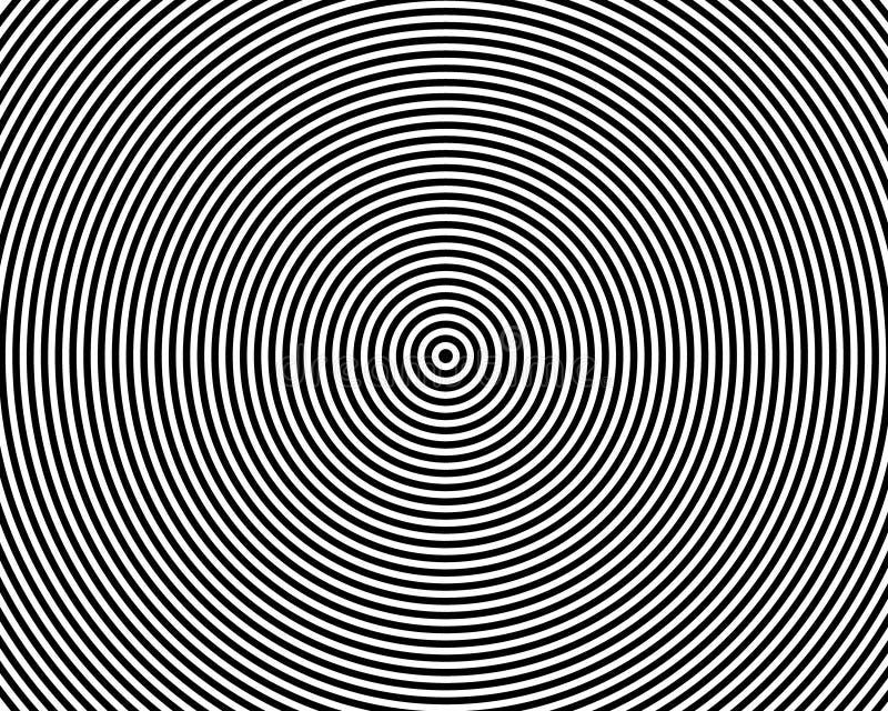 Abstrakt geometriska cirklar bakgrundsvektorn stock illustrationer