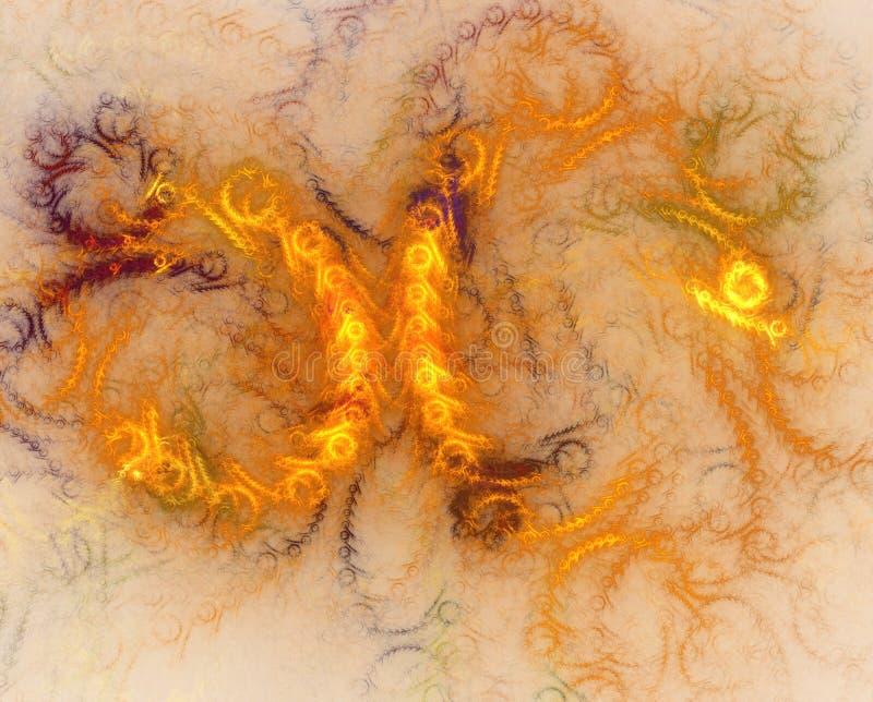Abstrakt gl?dande futuristisk bakgrund med belysningeffekt f?r id?rik design vektor illustrationer
