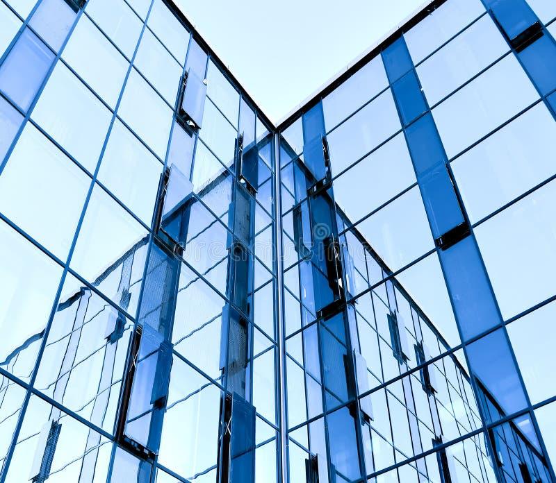 abstrakt glasvägg royaltyfria foton