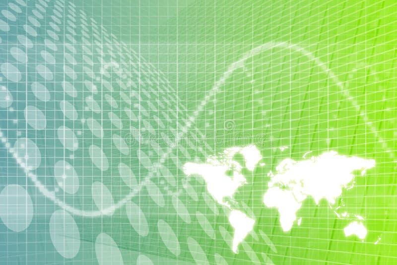 abstrakt global bakgrundsaffär vektor illustrationer