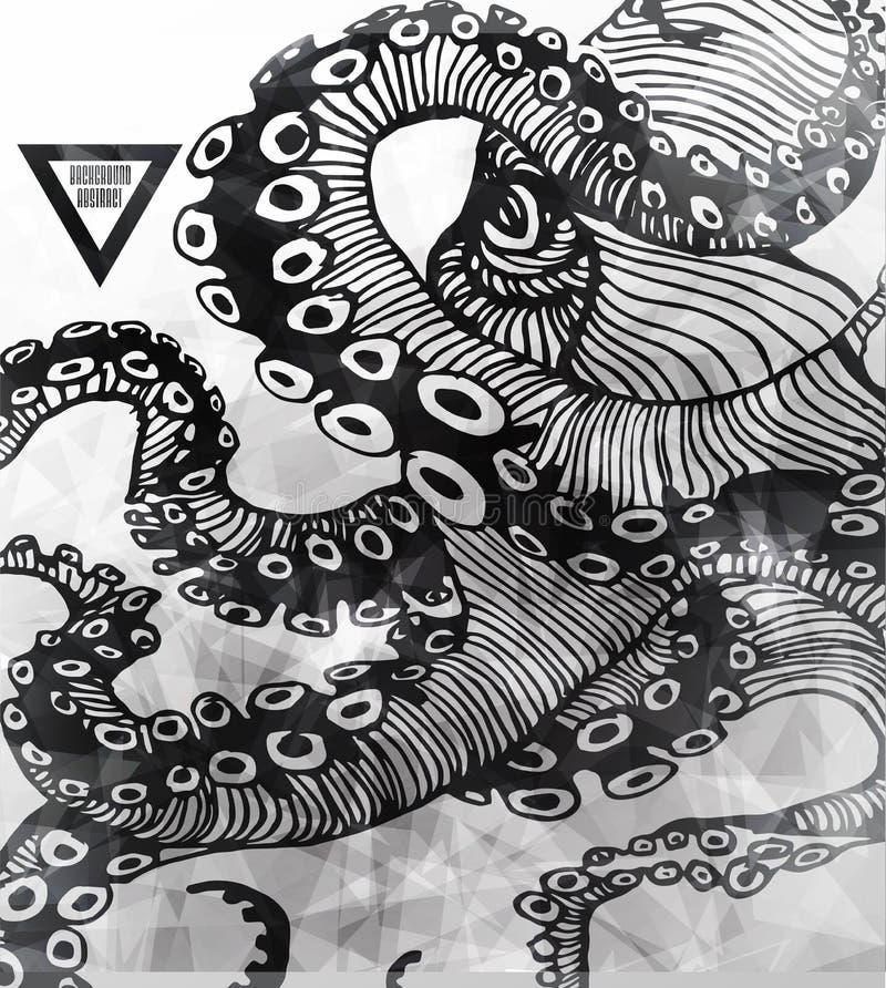 Abstrakt gothic royalty ilustracja