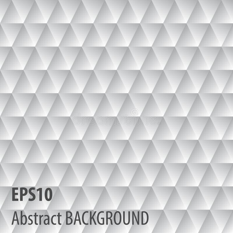 Abstrakt grå triangelbakgrund arkivbilder