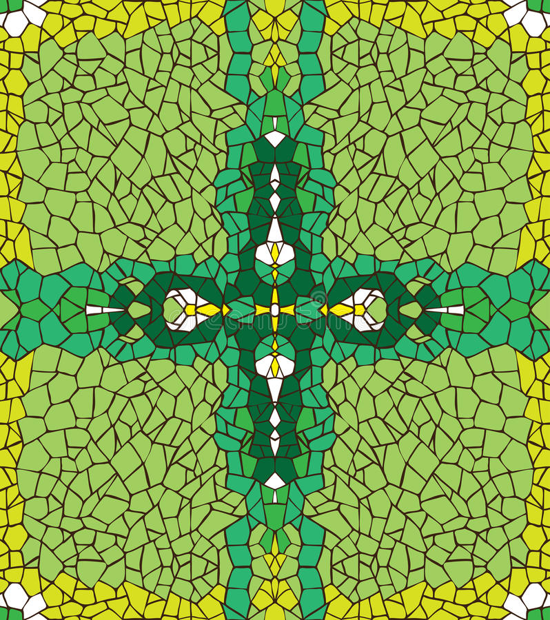 Abstrakt grön bakgrund. stock illustrationer