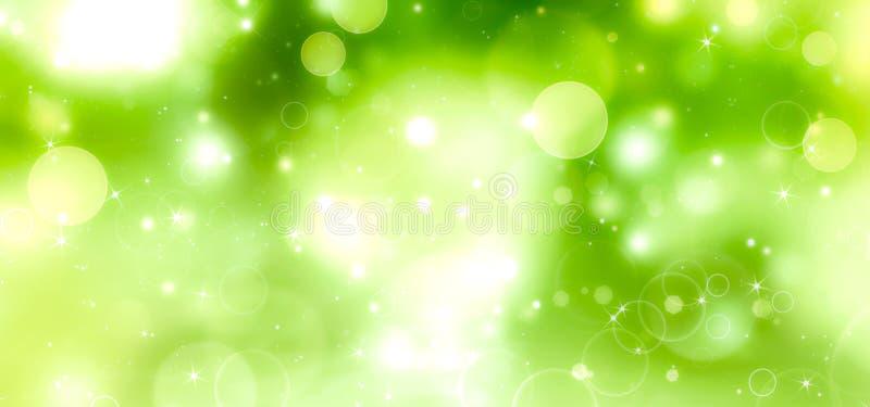abstrakt grön illustration royaltyfri illustrationer