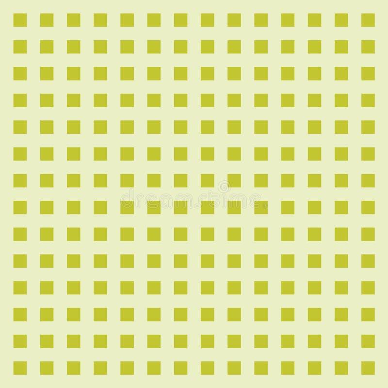 Abstrakt grön kubmodellbakgrund Ram illustration för vektordiagram vektor illustrationer