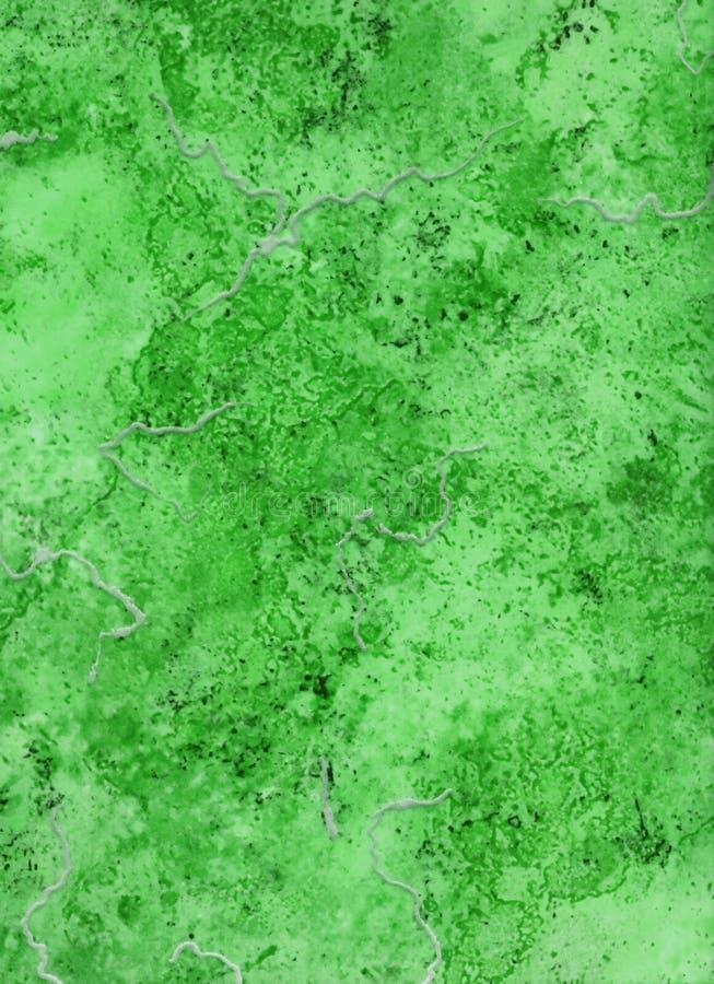 abstrakt grön marmortextur vektor illustrationer