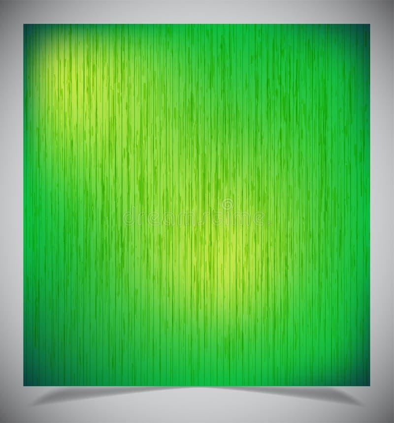 Abstrakt grön wood bakgrund royaltyfri fotografi
