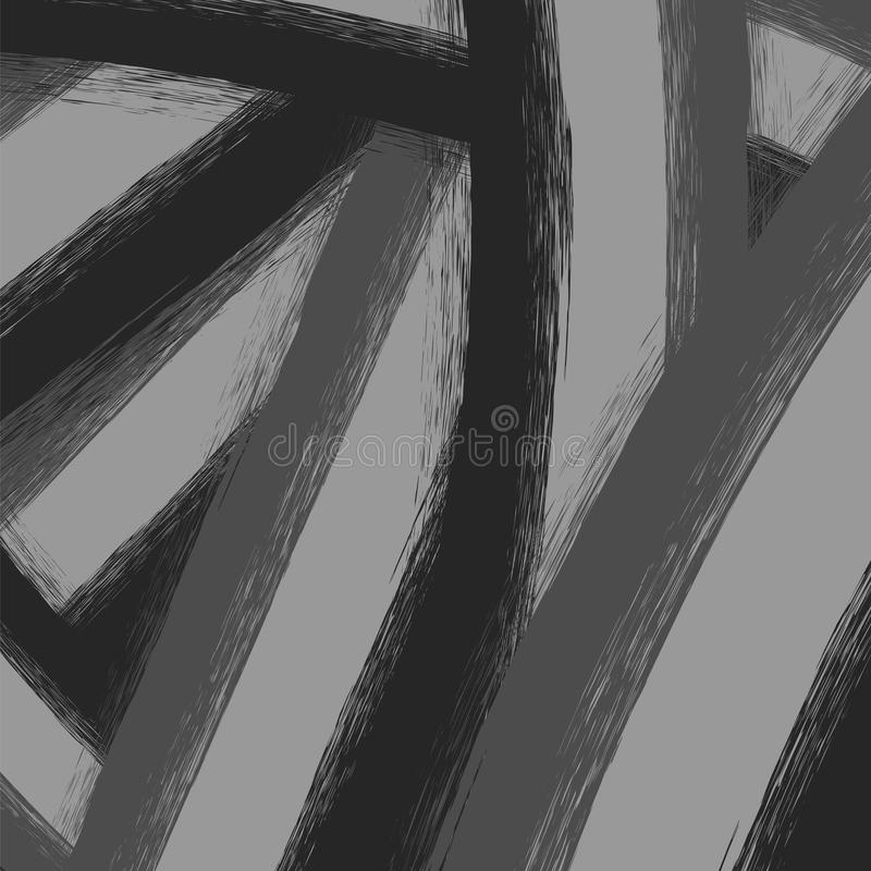 Abstrakt Grunge Grey Background royaltyfri illustrationer