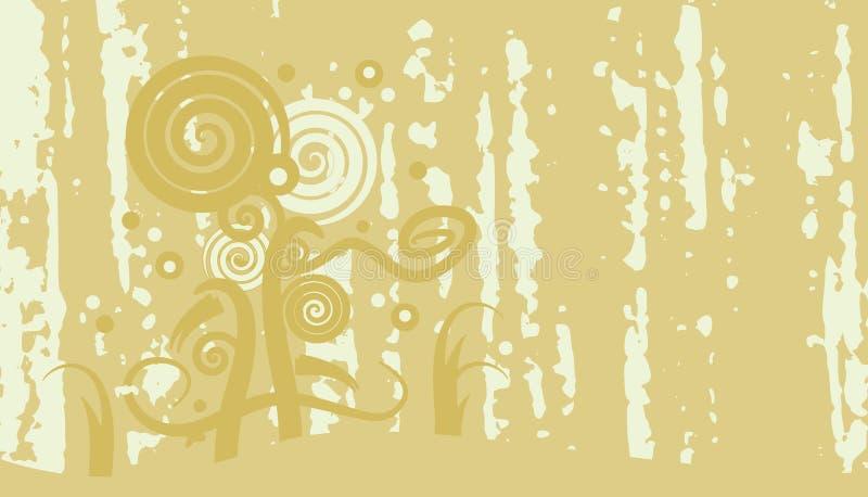 abstrakt grungemodell stock illustrationer