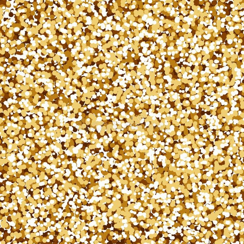 Abstrakt guld- banerbakgrund vektor illustrationer