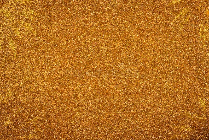 Abstrakt guld- julbakgrund royaltyfria foton