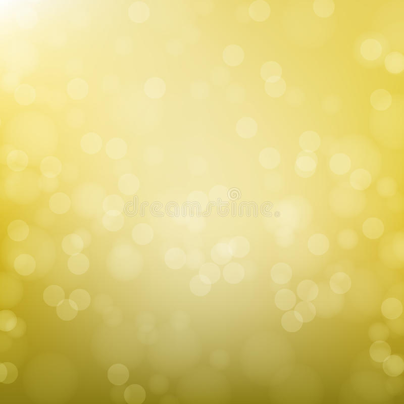 Abstrakt guld- rund bokehbakgrund arkivfoton