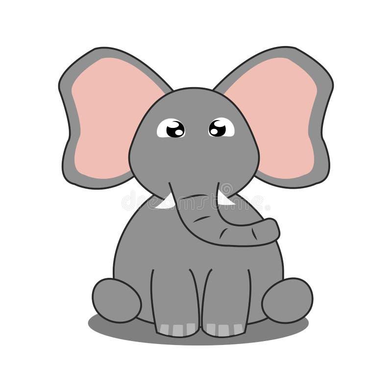 Download Abstrakt gulligt djur vektor illustrationer. Illustration av rovdjur - 106829939