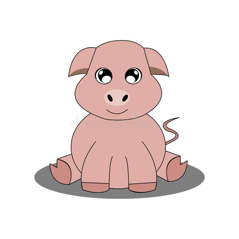 Download Abstrakt gulligt djur vektor illustrationer. Illustration av rovdjur - 106830064