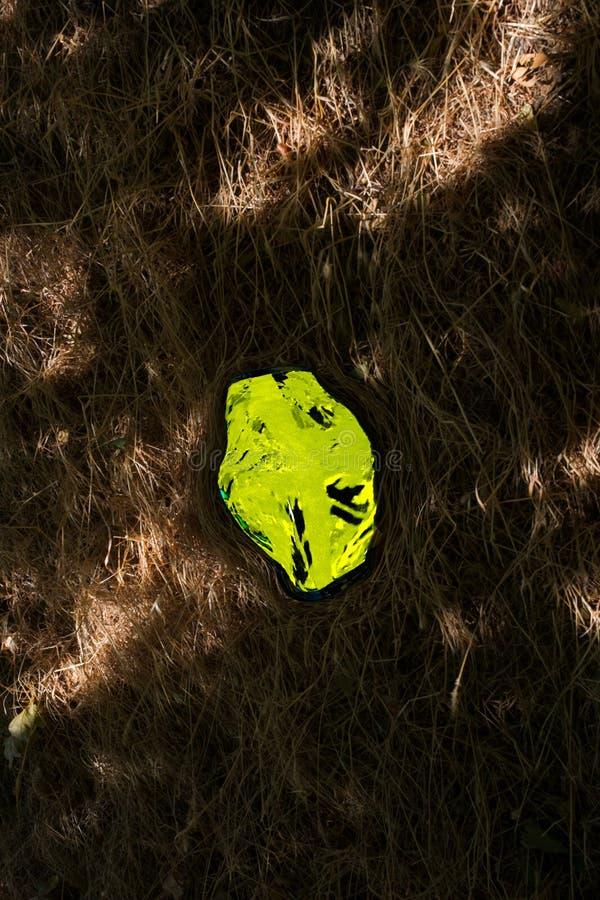 Abstrakt gult ljus/textur/design i fält arkivbild
