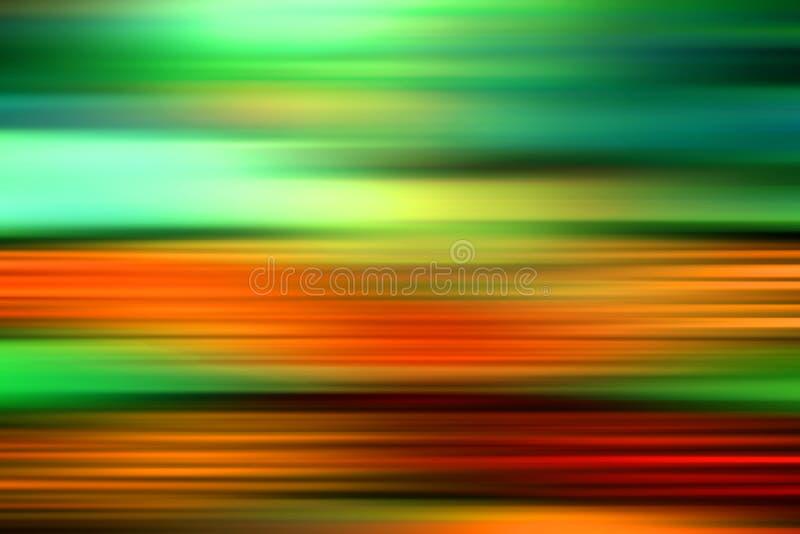 abstrakt härligt rusa för färger stock illustrationer