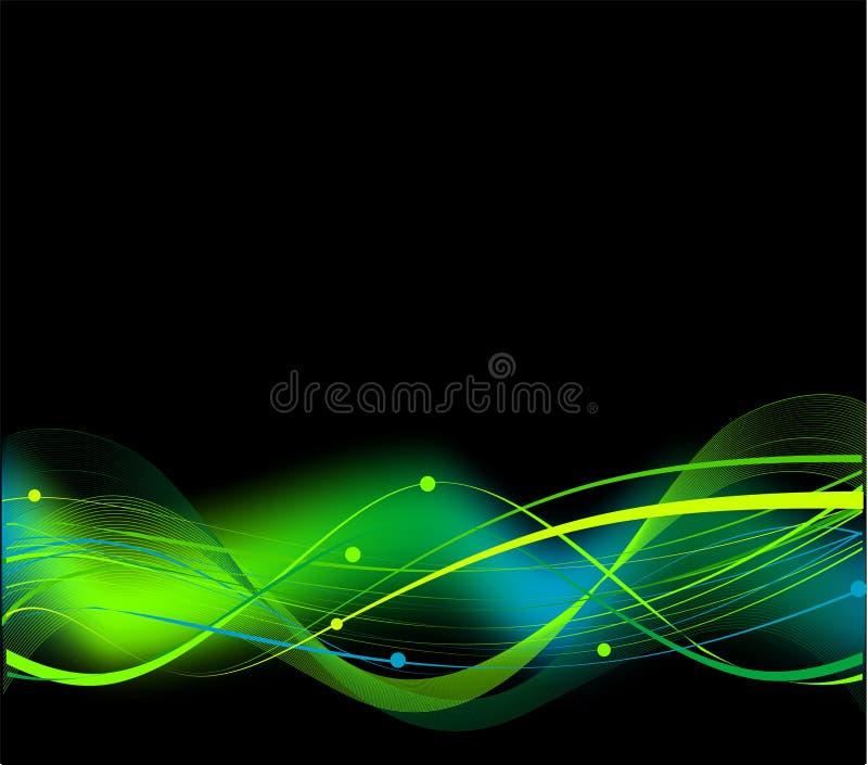 abstrakt hög bakgrundsblack - tech royaltyfri illustrationer