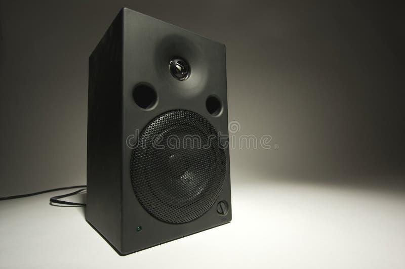 abstrakt högtalarestereo royaltyfri bild