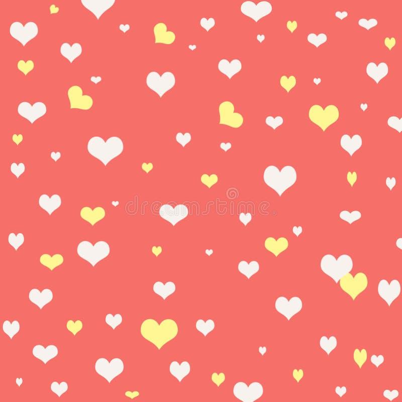 Abstrakt-Hintergrund für Grüße glücklicher Valentinsgruß oder Hochzeit herein stock abbildung